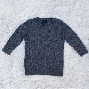 Gray Marled Sweater